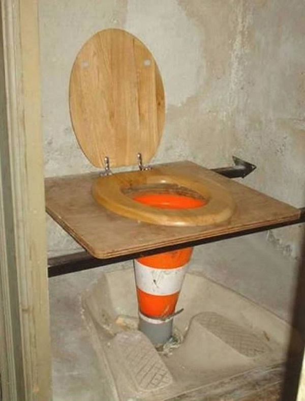 The Ultimate Builders Toilet
