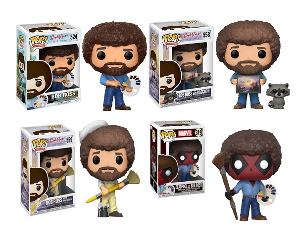 Funko Pop! Bob Ross Collectible Figures
