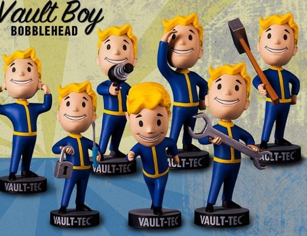 Fallout 4: Vault-Tec Pip-Boy Bobblehead Figures