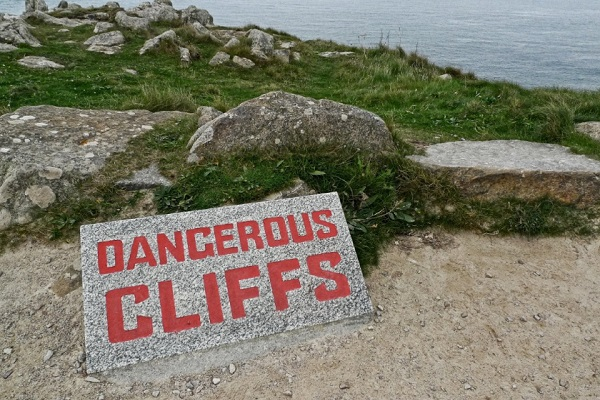 Sign 6: You Do Dangerous Things