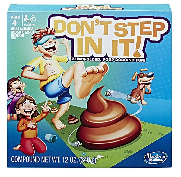 Don't Step In It Party Game