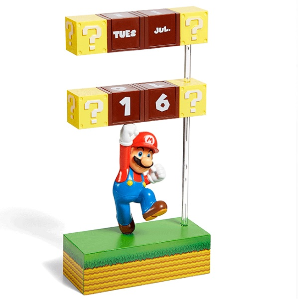 Nintendo Super Mario Standing Figural Calendar