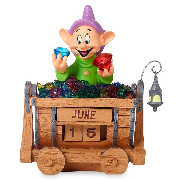 Disneys Snow White and the Seven Dwarfs Dopey Standing Figural Calendar