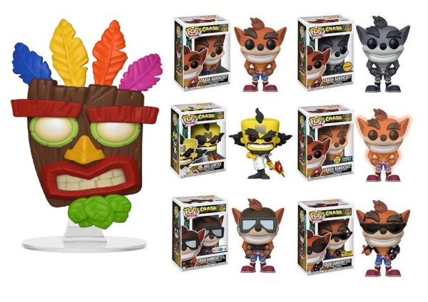 Crash Bandicoot Funko POP! Vinyl Figures