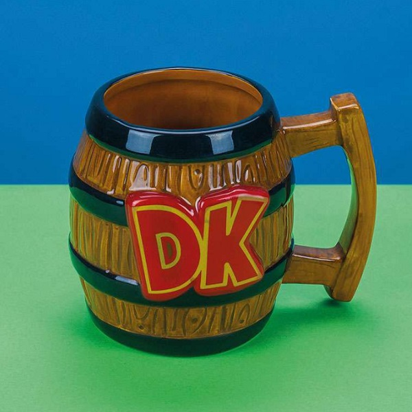 Donkey Kong Shaped Barrel Mug