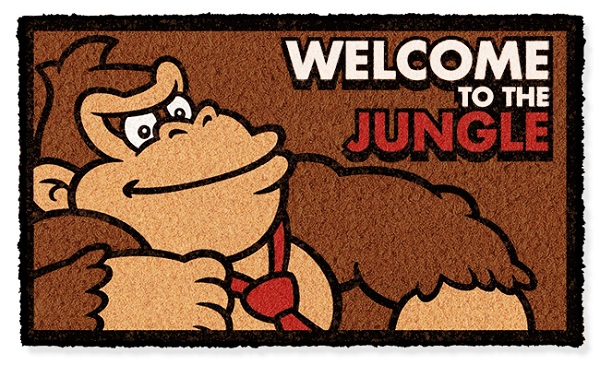 """Donkey Kong Doormat """"Welcome to the Jungle"""""""