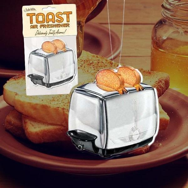 Toast Car Air Freshener