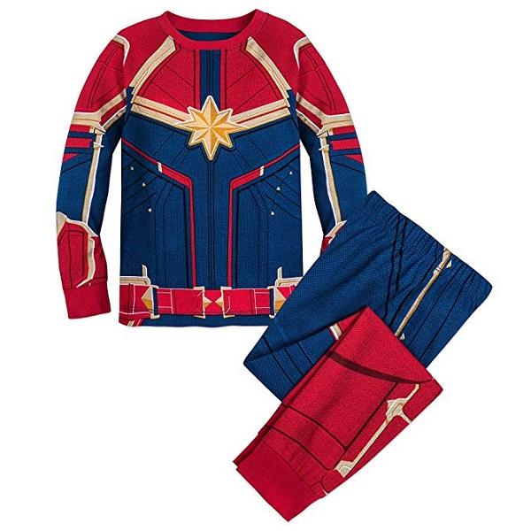 Captain Marvel Girls Pajamas