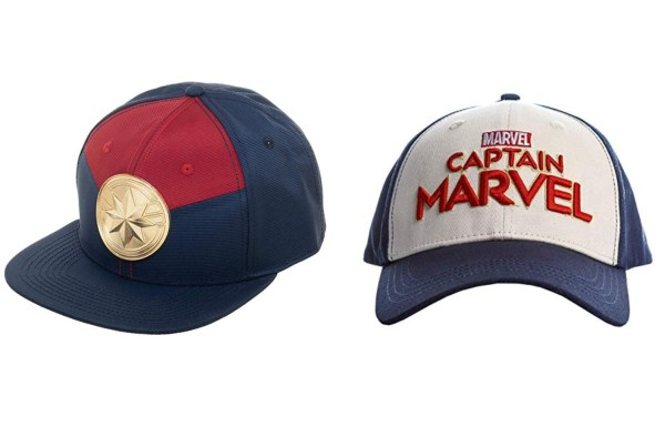 Captain Marvel Baseball Caps