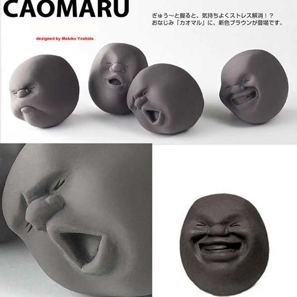 Caomaru Face Squishy Stress Toy