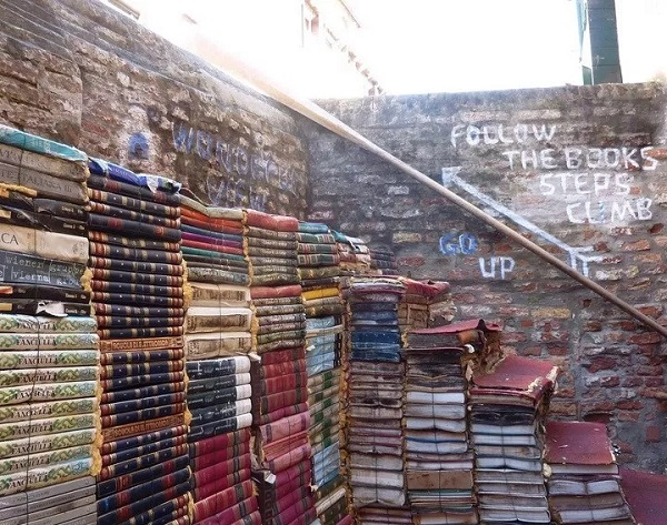 A Staircases Made From Books