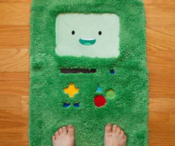 Adventure Time BMO Bathmat