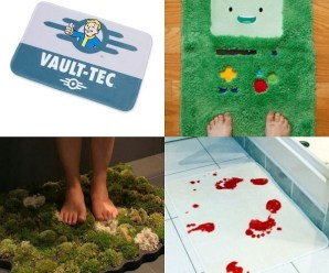 Ten Crazy, Weird and Unusual Bathmats You Can Buy Right Now