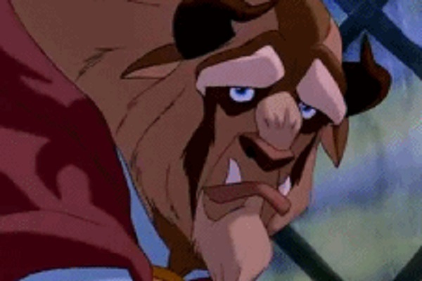 Beast from Beauty and the Beast - Anger Mangement Problems