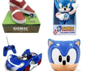 Ten Sonic the Hedgehog Gift Ideas You Can Buy Right Now