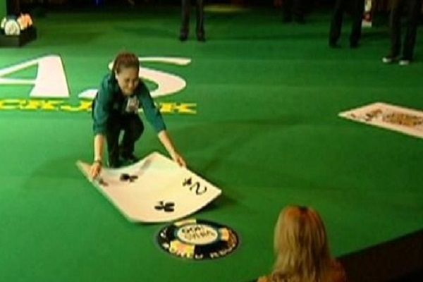 The Worlds Largest Blackjack Table