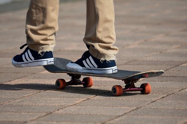 Skateboard to Work
