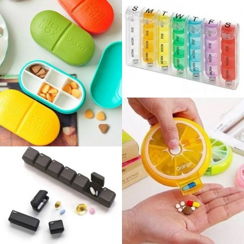 Ten Novelty, Fun and Very Unusual Pill Boxes You Can Buy Right Now