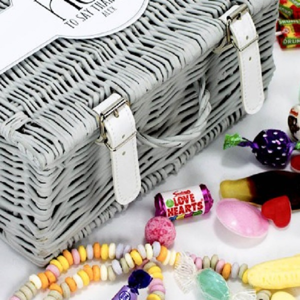 A Hamper of Sweets and Chocolates: