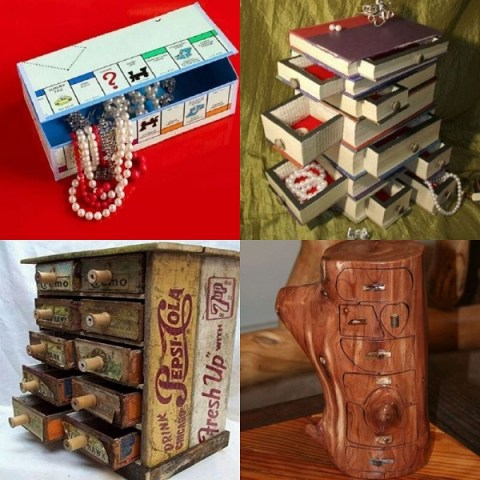 Ten Amazing Jewellery Boxes Made From Recycled Things