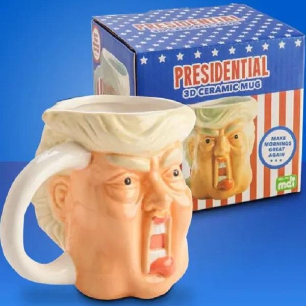 3D Donald Trump Ceramic Mug