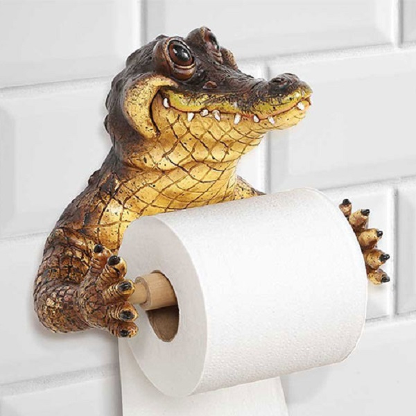 Crocodile Toilet Paper Holder