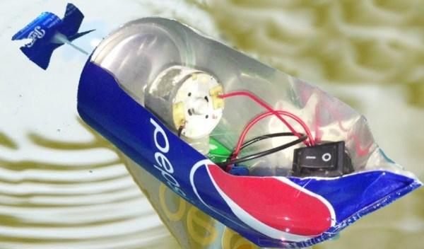 Pepsi Can Boat