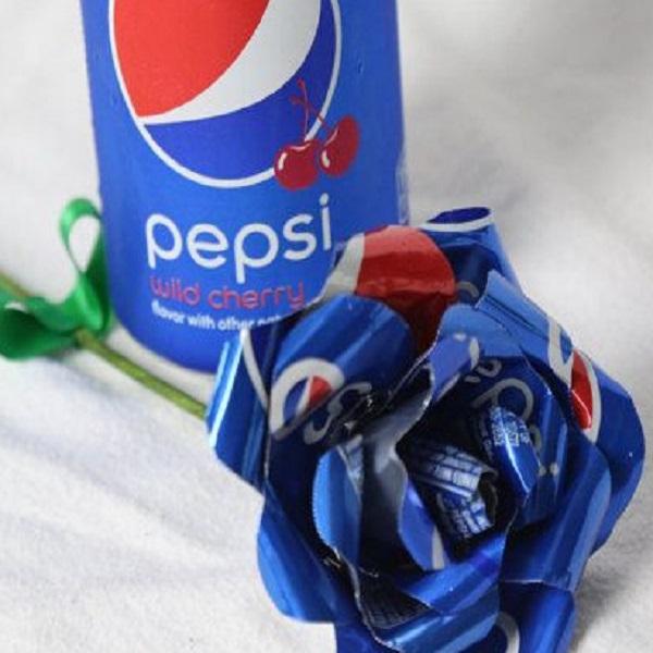 Pepsi Can Rose