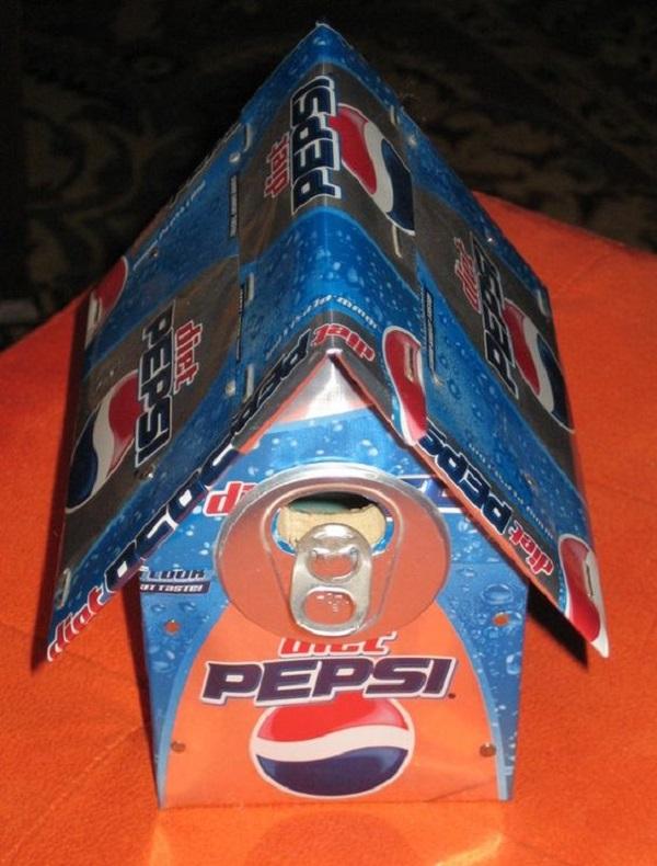 Pepsi Can Birdhouse