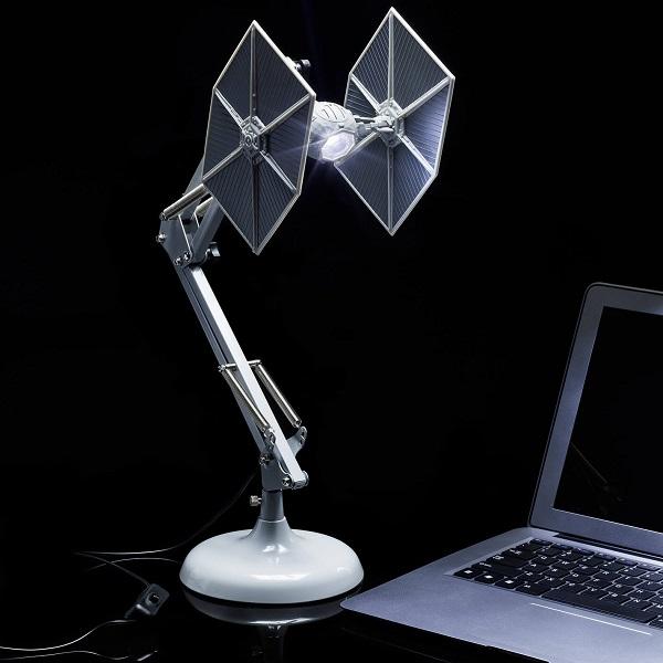 Star Wars Tie Fighter Bedside Posable Lamp