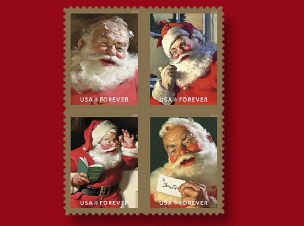 Collectable Christmas Postage Stamps