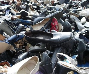 Ten Things You Can Recycle Into Shoe Holders and Organisers