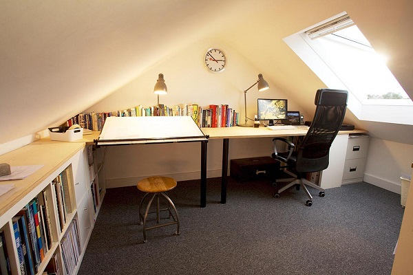 Turn Your Loft Conversion Into an Office