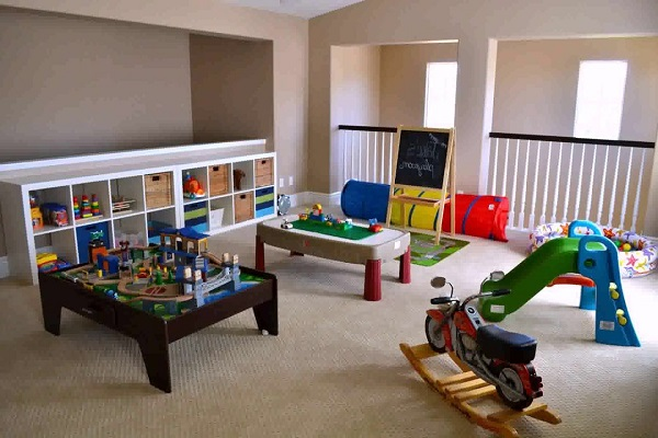 Turn Your Loft Conversion Into a Play Room