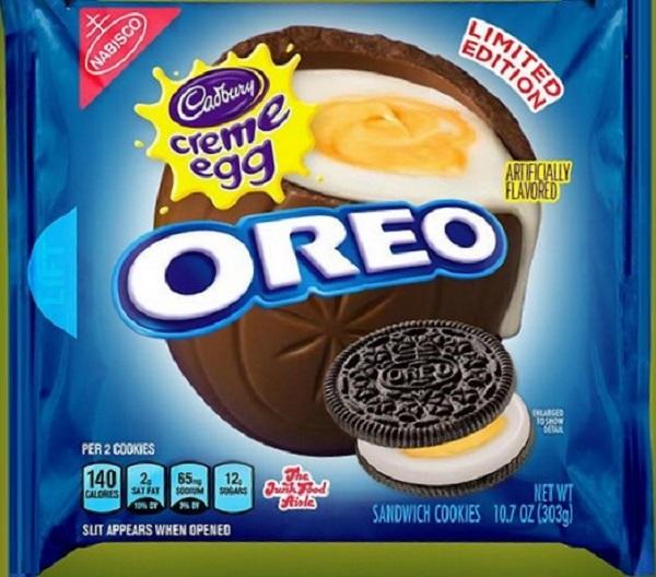 Creme Egg Oreo Cookies