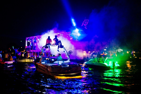 Entertainment Venues in London - Silent Sounds Boat Party