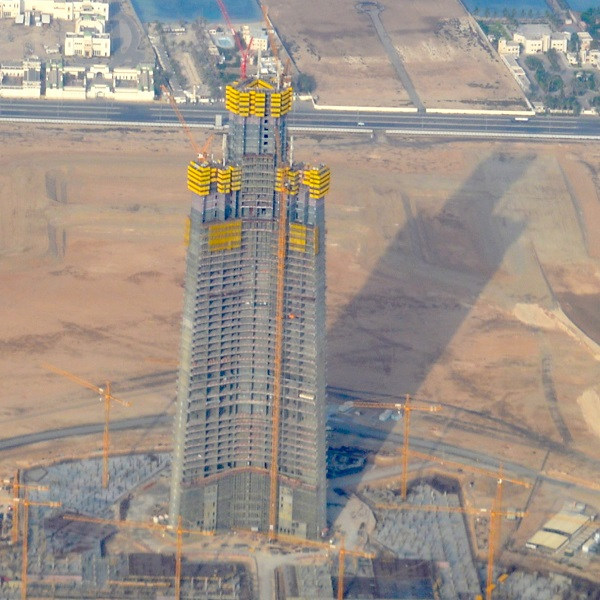 The Worlds Most Iconic Structures - Jeddah Tower (Kingdom Tower)