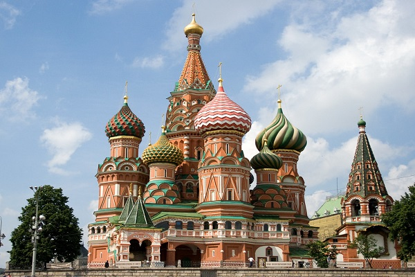 The Worlds Most Iconic Structures - Cathedral of Vasily the Blessed ( aka St. Basil's Cathedral)