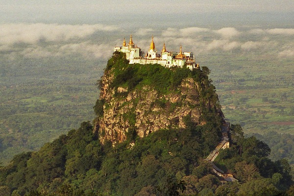 Popa Taung Kalat Monastery, Myanmar