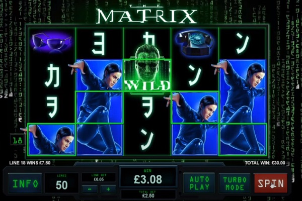 The Matrix Slot Game