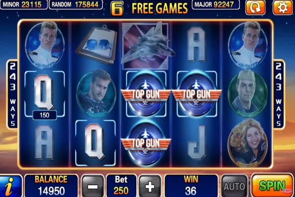 Top Gun Slot Game