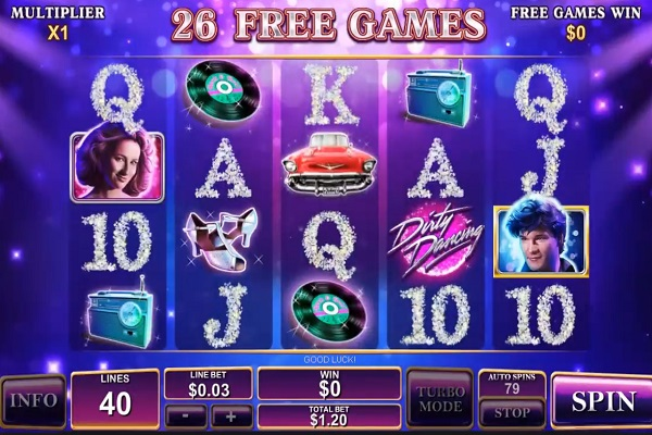 Dirty Dancing Slot Game