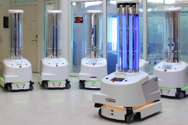 Hospital Sanitizing Robots