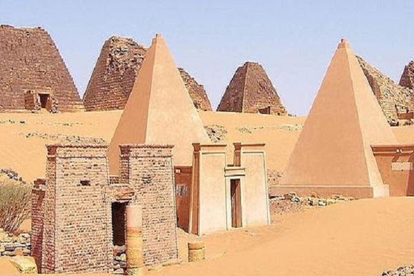 The Nubian Pyramids
