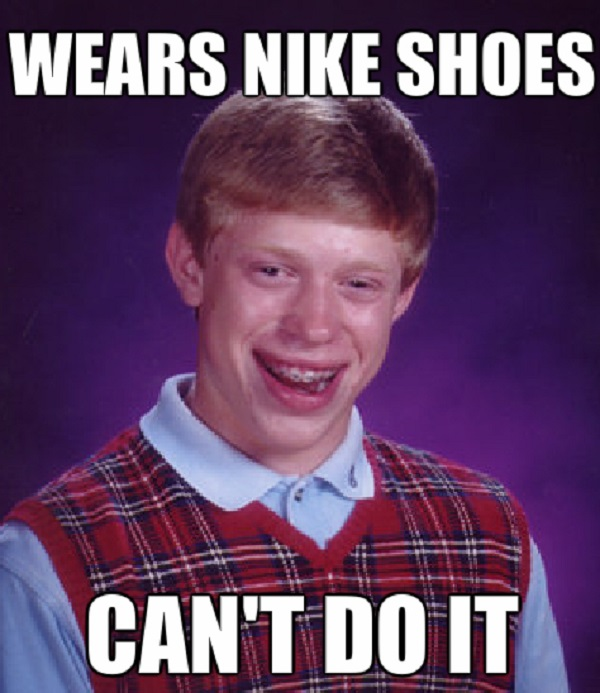 "Suing Nike For Not Labelling Their Shoes As ""Dangerous Weapons"""