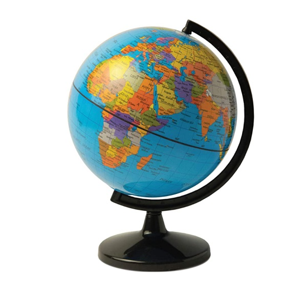 Desk Globe Money Box