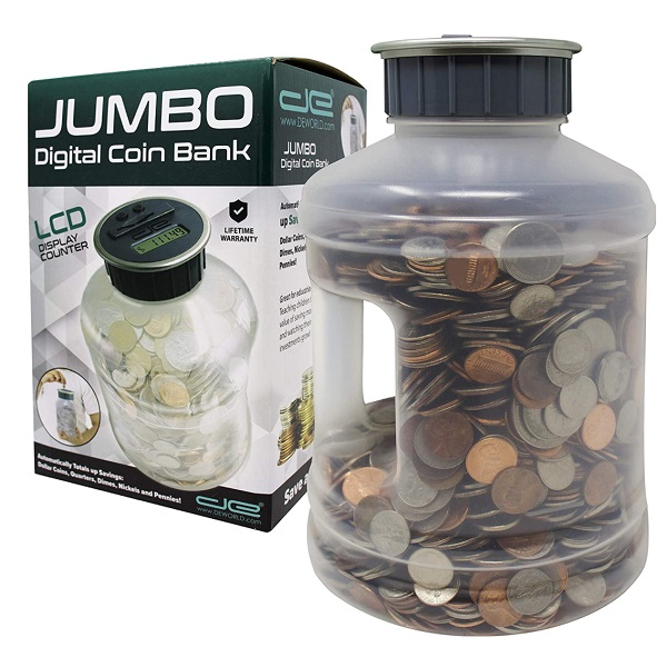 Savings Jar Money Box