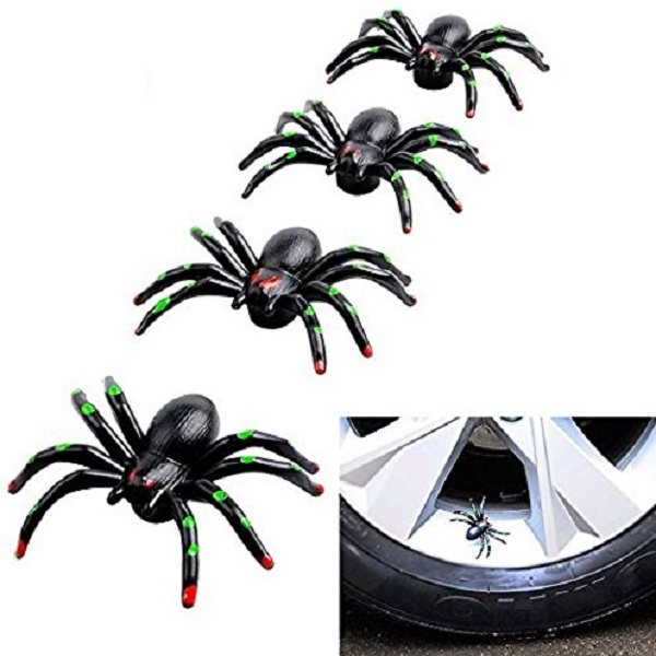 Spiders Tyre Valve Caps