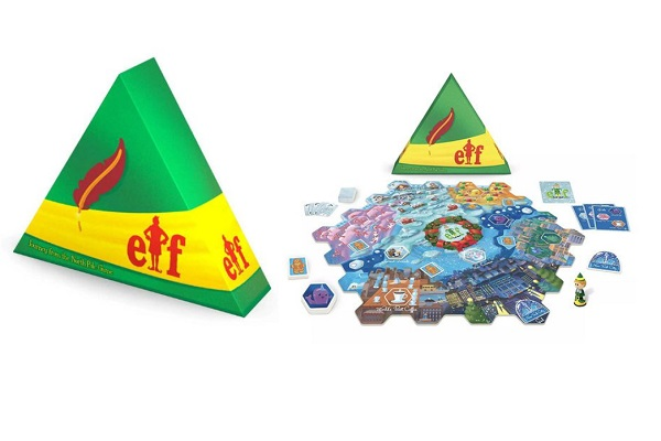 Elf The Board Game - Journey From The North Pole