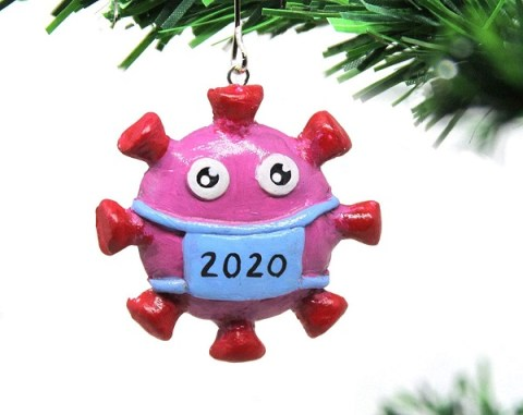 Ten Christmas Tree Decorations That Perfectly Sum Up the Year 2020